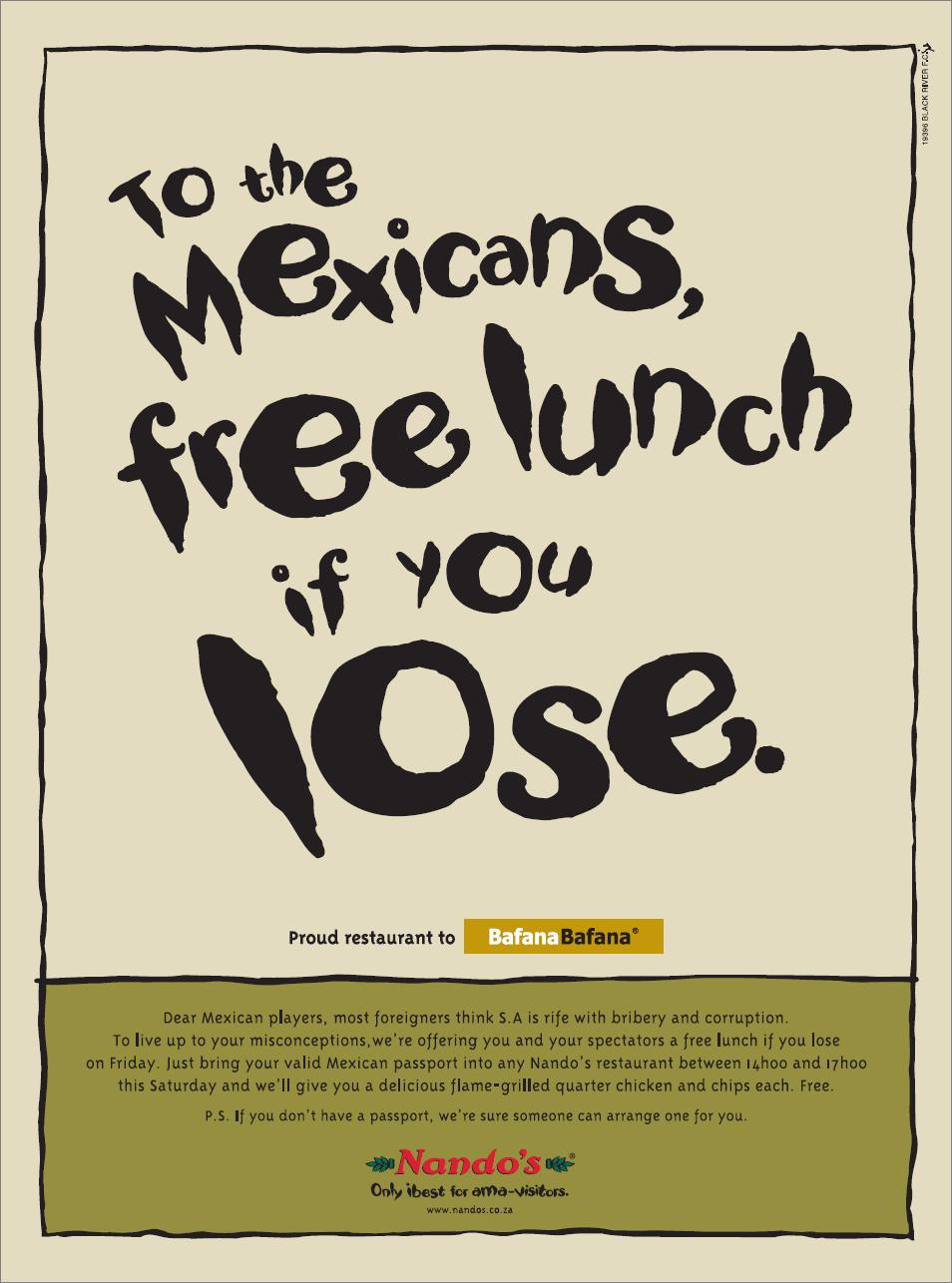 Nando's Mexicans