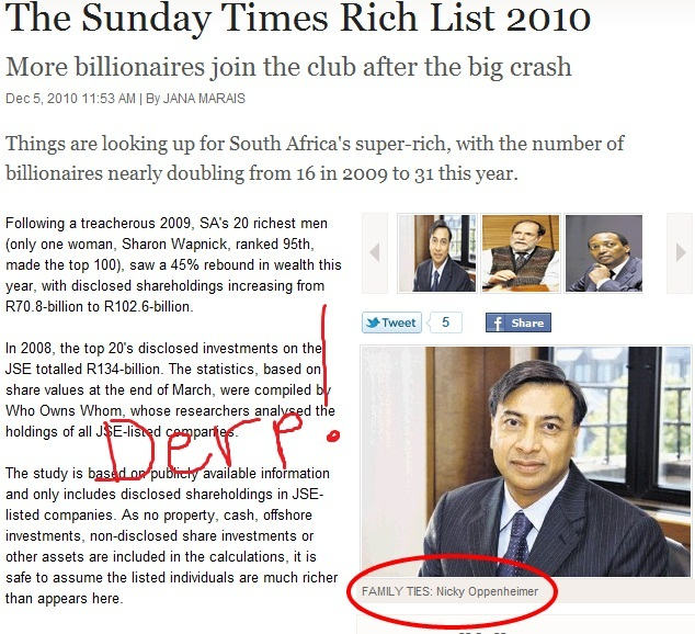The Sunday Times Rich List 2010 - Times LIVE