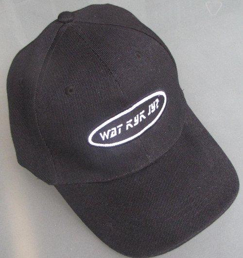 black watkykjy cap