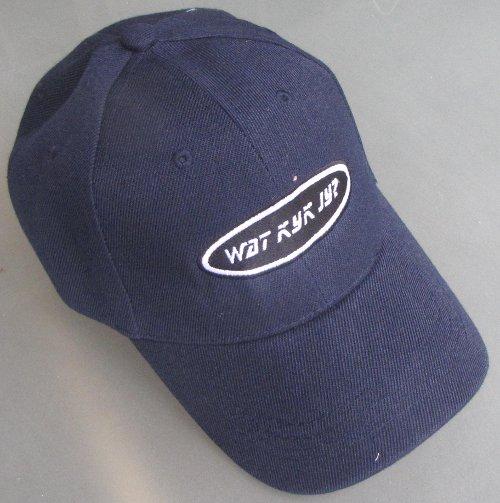 blue watkykjy cap