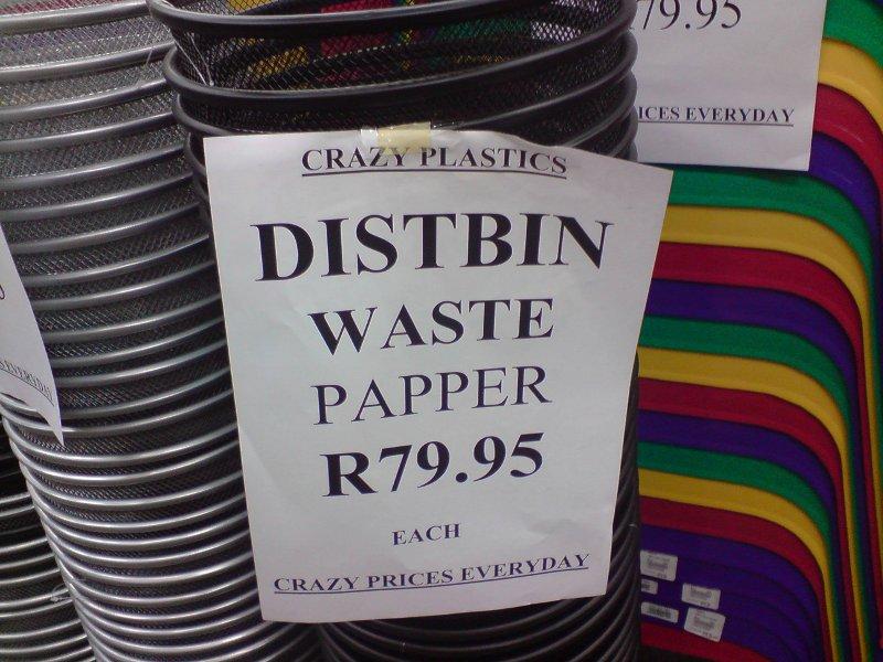 Crazy Plastics - Asblik - Vanderbijlpark