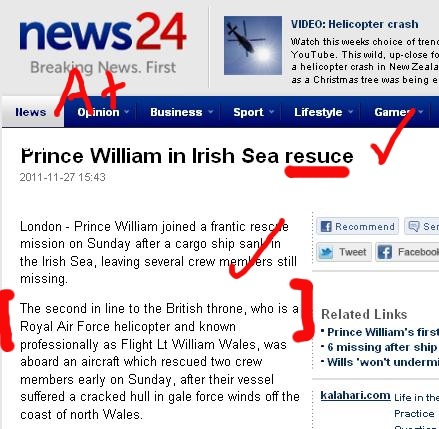 prince william the helicopter