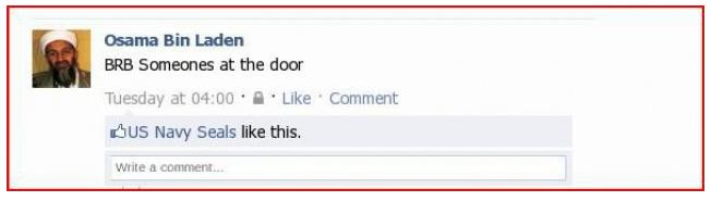 Osama On Facebook
