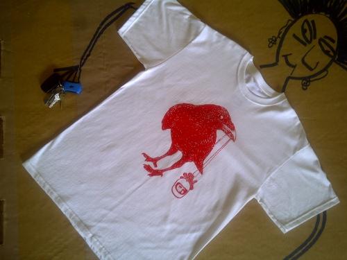 blink red bird