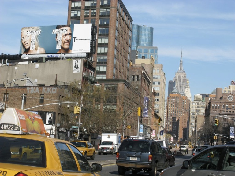 Alexander Wang Billboard NYC