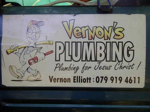 plumbing vir jesus