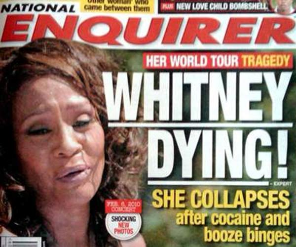 whitney cocaine crackwhore