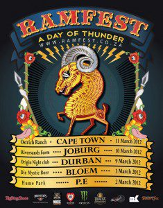 RAMfest poster flyer