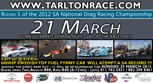 drag racing by tarlton