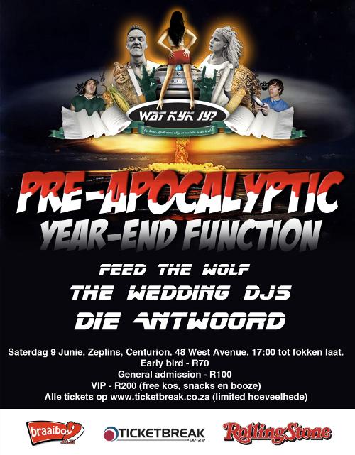 Watkykjy pre-Apocalyptic party
