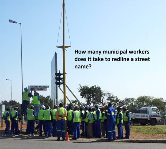 municipal workers