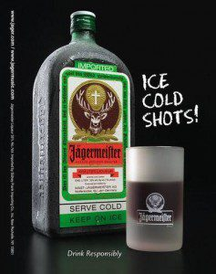 jagermeister ice cold shots