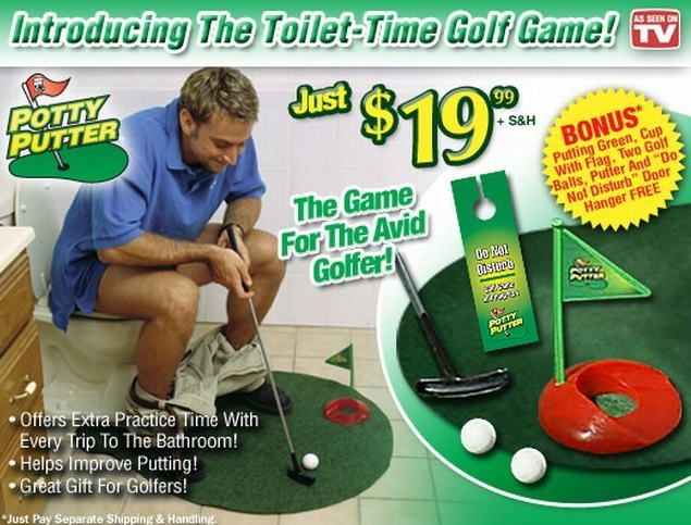2.potty putter
