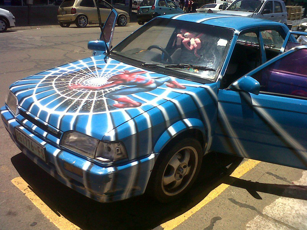 spider van