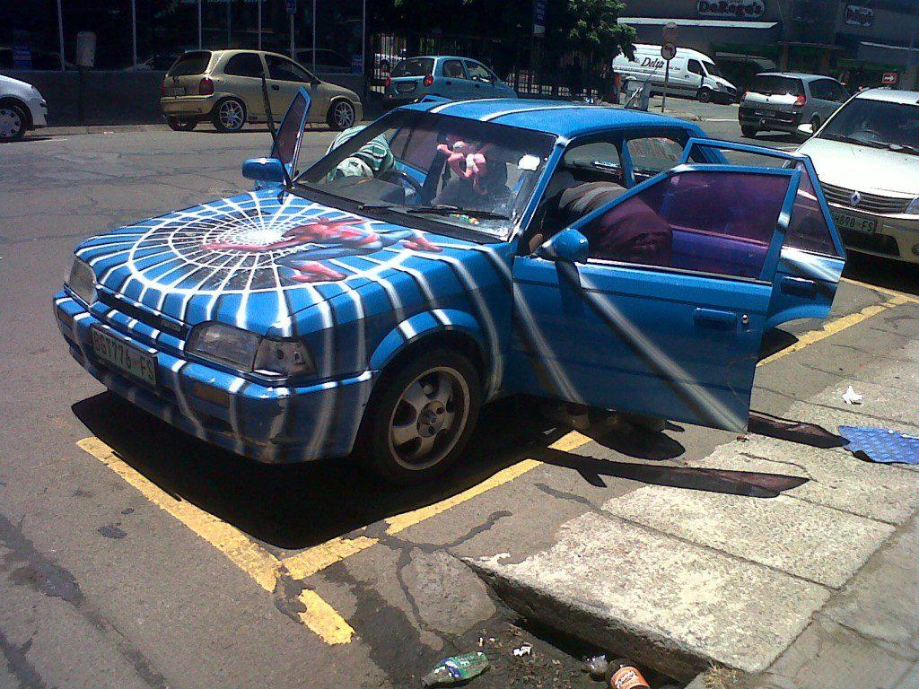 spidervan