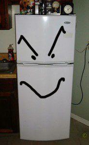 evil fridge