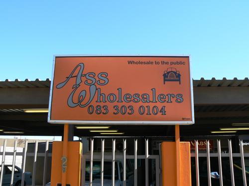ass wholesalers
