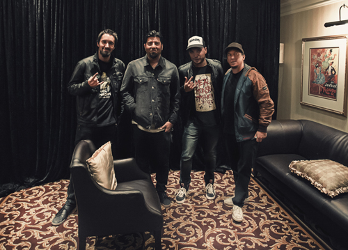 Watkykjy Deftones INTERVIEW - GROUP SHOT