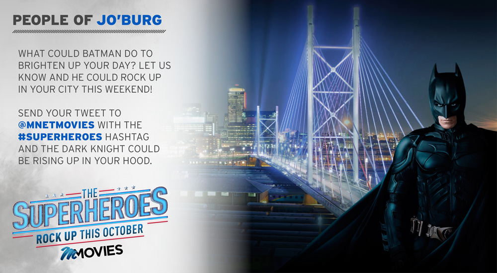 Superheroes Rock Up - Joburg