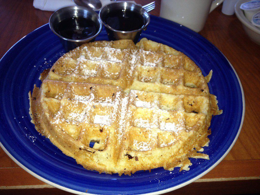 waffles en stroop