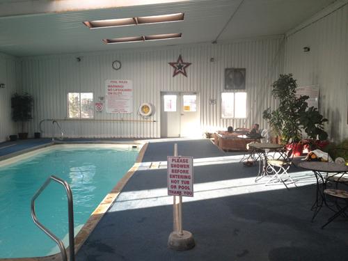 pool en jacuzzi in Amarillo RV park