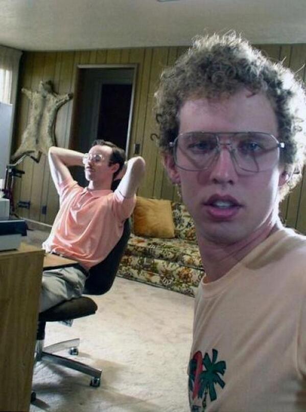 beer nerd selfie