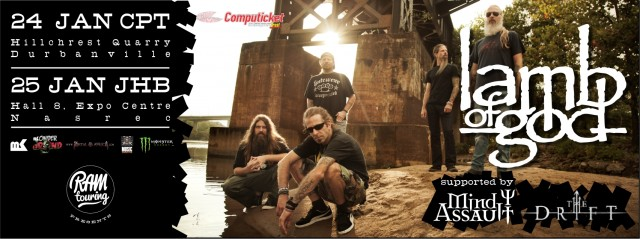 lamb of god south african tour