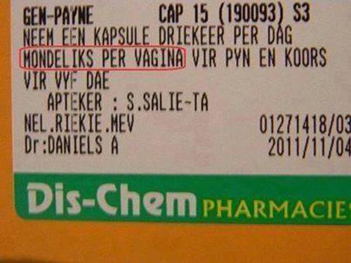mondeliks per vagina
