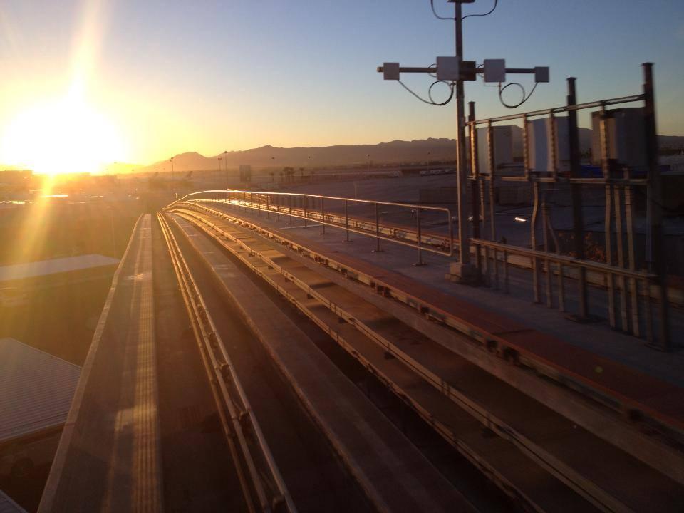 trein na terminal