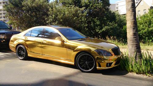 golden AMG S55