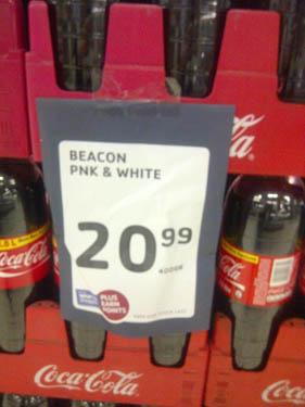 pienk en wit coke