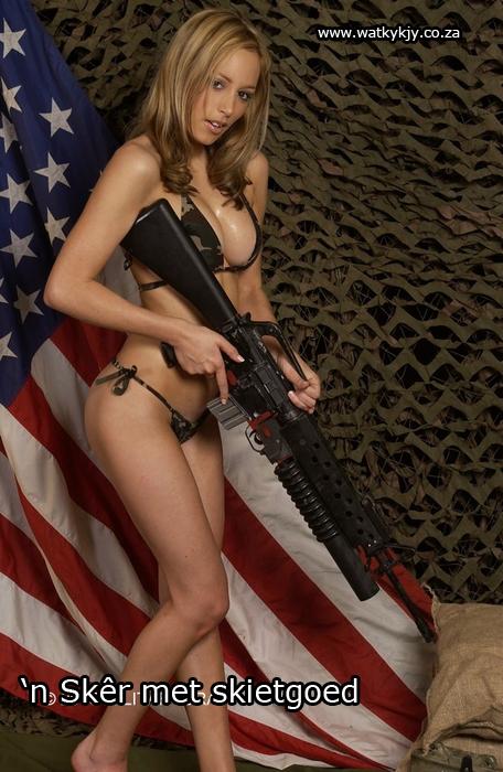 military-mooiding