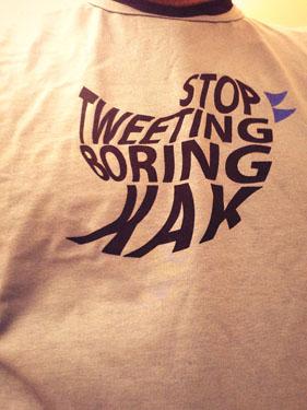 stop tweeting kak