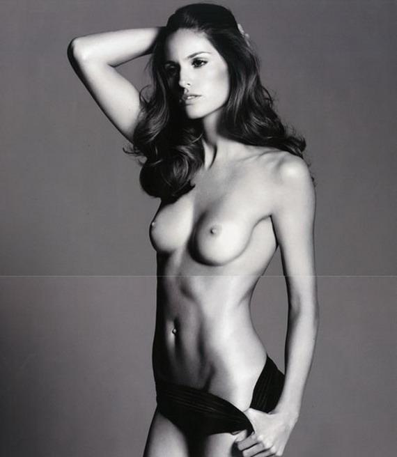 vrydag bederf Izabel Goulart topless