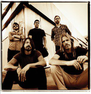Foo Fighters - foto deur Steve Gullick