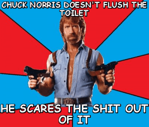 chuck norris shit