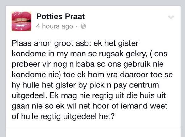 Potties nuus facebook