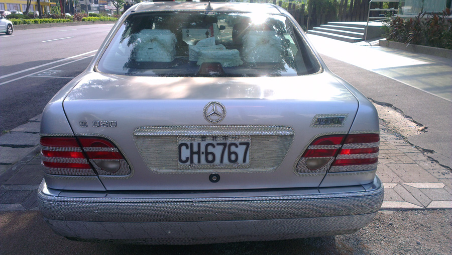 Bling Benz in Taipei 6