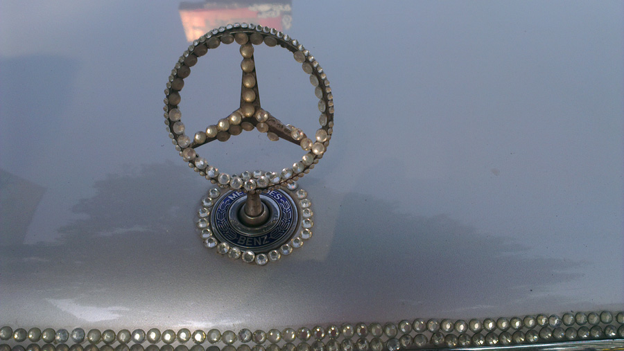 Bling Benz in Taipei