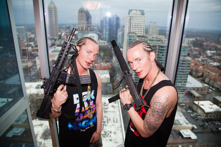 ATL Twins photoshoot