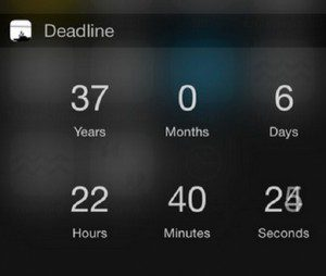 deadline death app