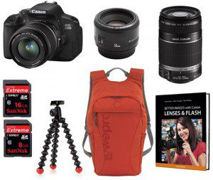 canon 650d ultimate bundle