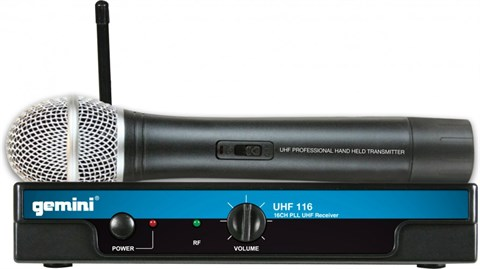 gemini wireless mic