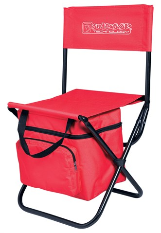 kampstoel met cooler