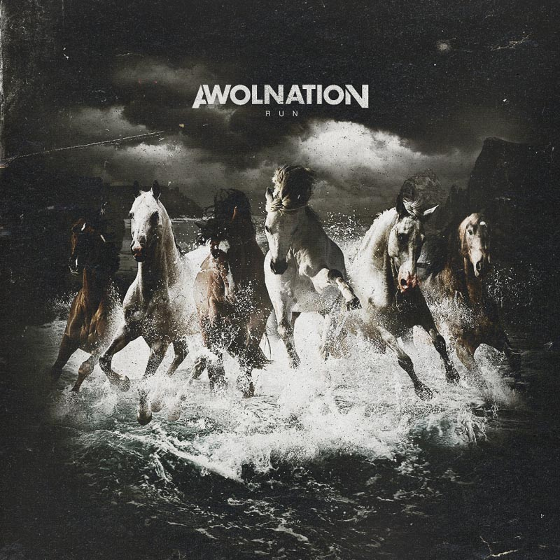 Awolnation album cover run