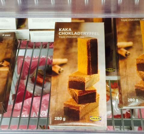 ikea londen kaka sweets