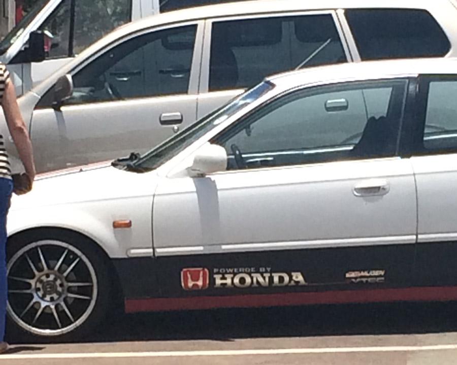 powered by honda
