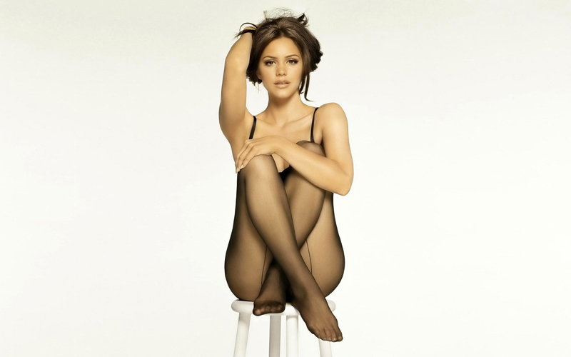 Katherine McPhee in stockings