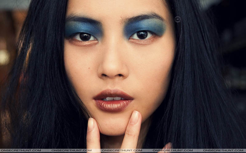liu wen make-up