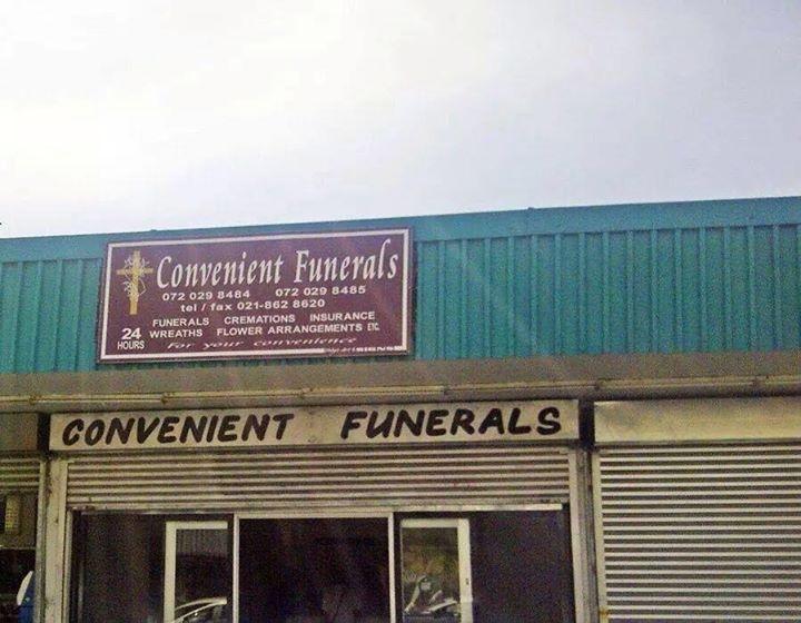 convenient funerals